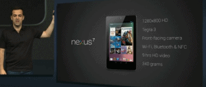 Nexus 7 Specifications