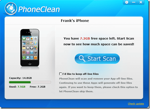 clean and speed up Iphone ipad itouch