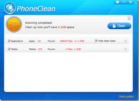clean and speed up Iphone Ipad and itouch