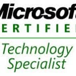 Become a Microsoft Certified Technology Specialist