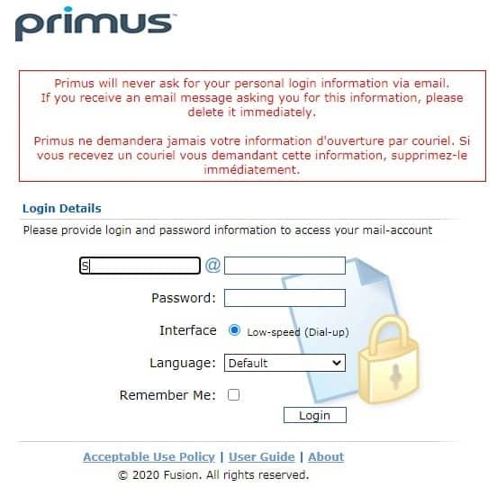 Primus Webmail